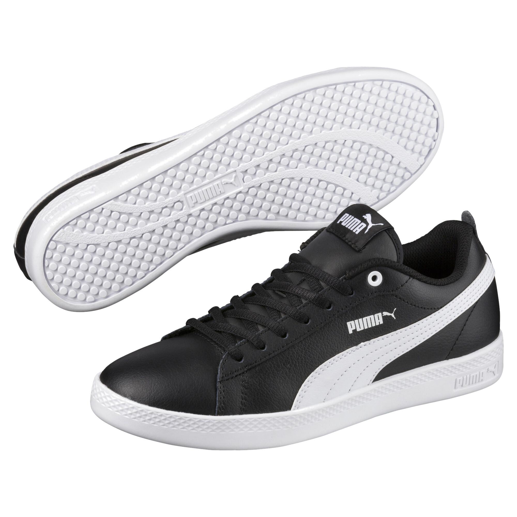 thumbnail 3 - PUMA-Women-039-s-Smash-v2-Leather-Sneakers