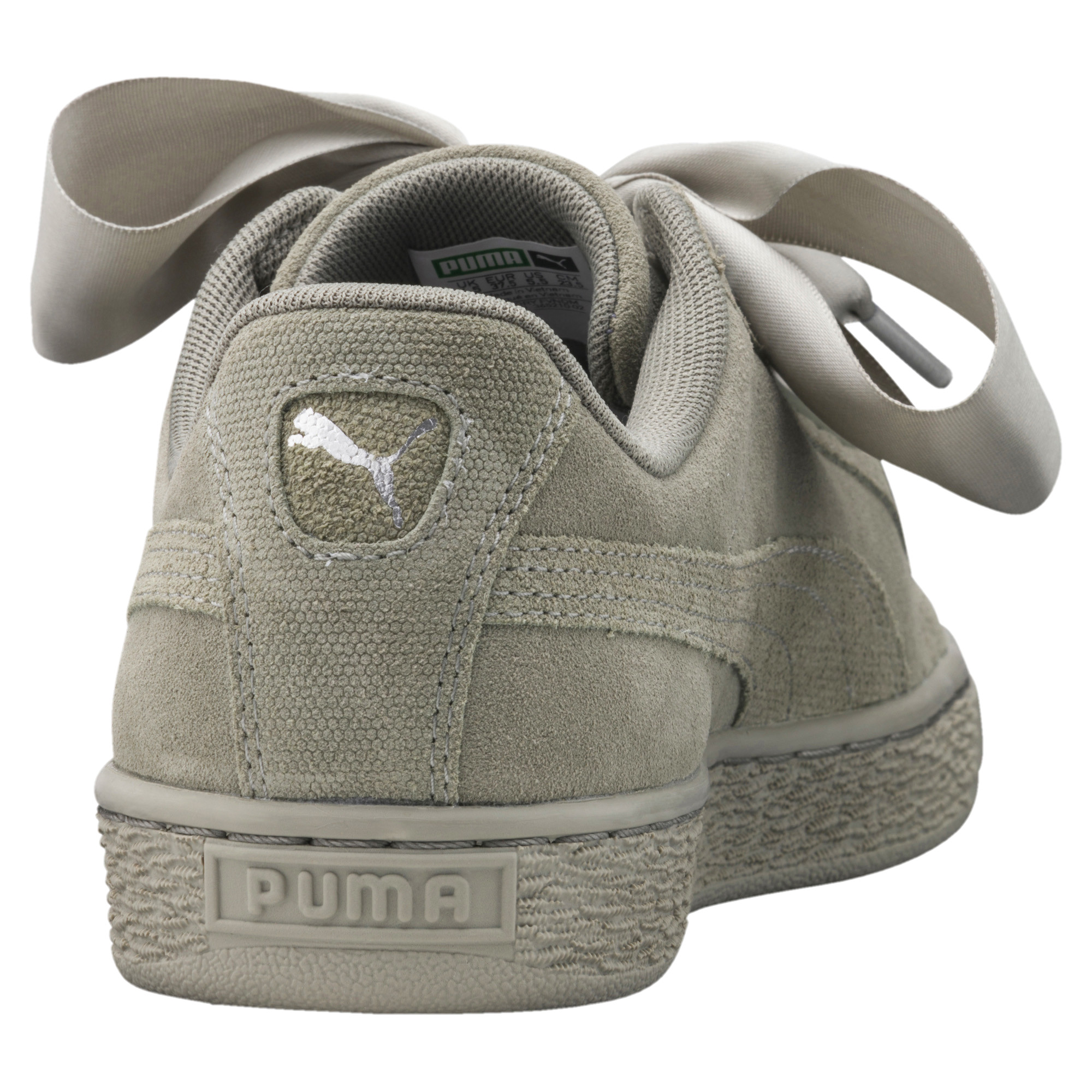 Image Puma Women's Suede Heart Pebble Training Shoes #4