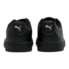 Thumbnail 3 of PUMA Smash v2 Leather Perf Sneakers, Puma Black-Puma Black, medium