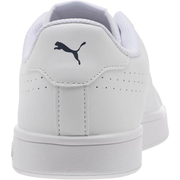 PUMA Smash v2 Leather Perf Sneakers, Puma White-Puma White, large