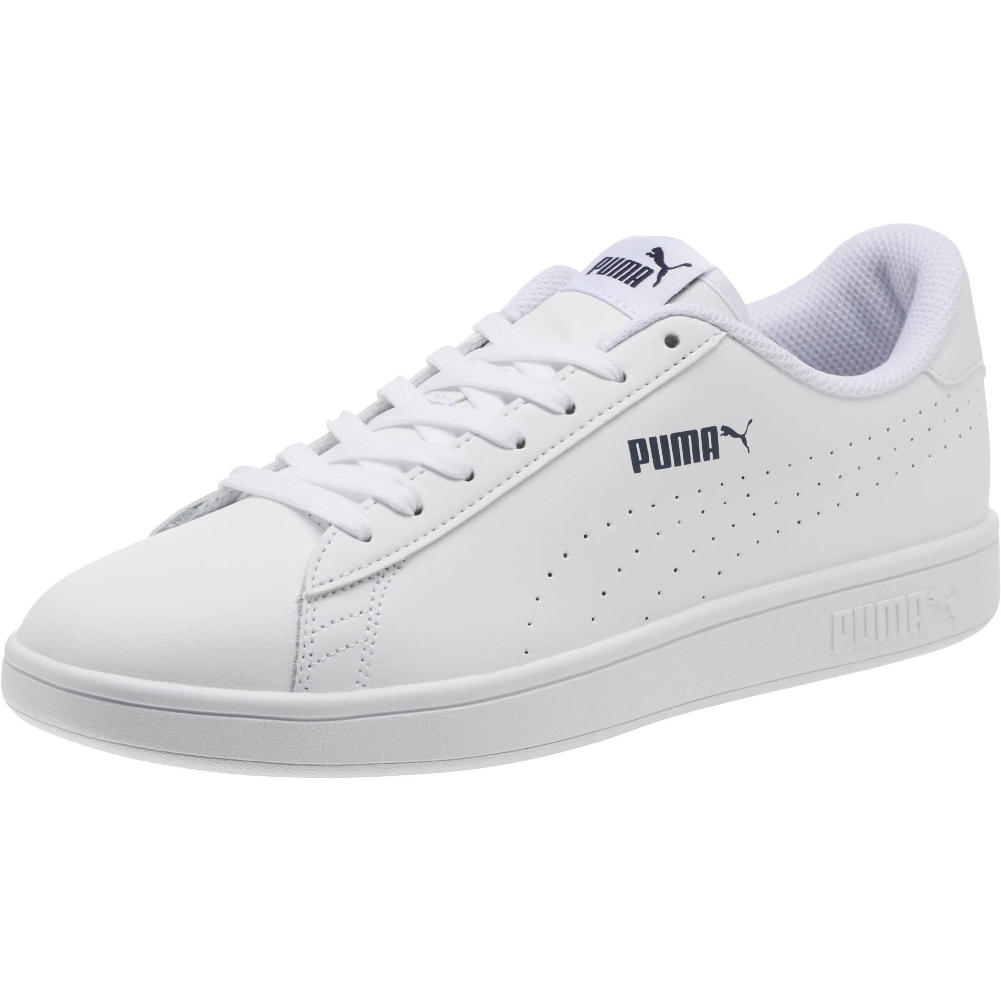 PUMA-PUMA-Smash-v2-Leather-Perf-Sneakers-Men-Shoe-Basics miniatura 4