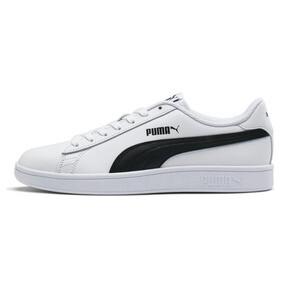 Thumbnail 1 of Smash v2 Leather Sneakers, Puma White-Puma Black, medium
