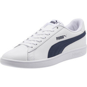 7efd2bdb29 Smash v2 Leather Sneakers Quickview · Smash v2 Leather Sneakers, Puma White-Peacoat  ...