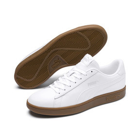Thumbnail 2 of Smash v2 Leather Sneakers, 13, medium