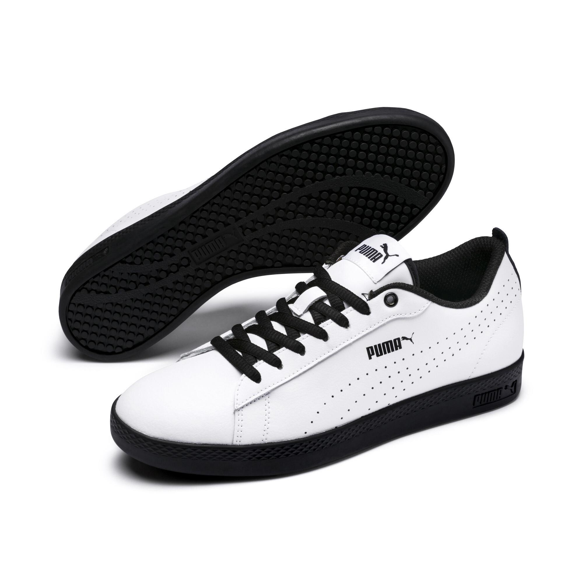 PUMA Smash Perf Leder Damen Sneaker Frauen Schuhe Basics Neu