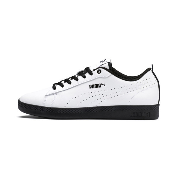 Smash v2 Perf Women's Sneakers, Puma White-Puma Black, large