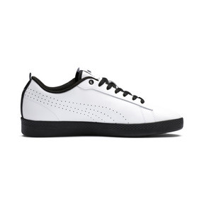 Thumbnail 5 of Smash v2 Perf Women's Sneakers, Puma White-Puma Black, medium