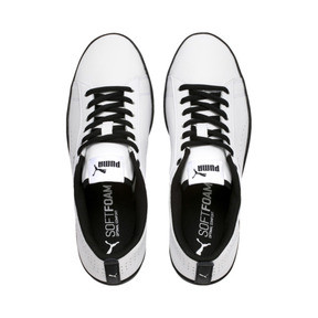Thumbnail 6 of Smash v2 Perf Women's Sneakers, Puma White-Puma Black, medium