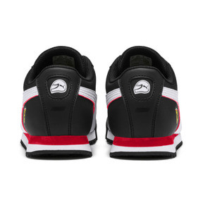 Thumbnail 4 of Scuderia Ferrari Roma Sneakers JR, Black-White-Rosso Corsa, medium