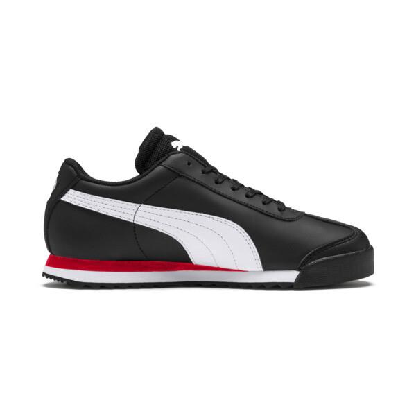 Scuderia Ferrari Roma Sneakers JR, Black-White-Rosso Corsa, large