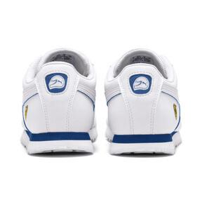 Miniatura 4 de Zapatos deportivos Scuderia Ferrari Roma para JR, White-White-Galaxy Blue, mediano