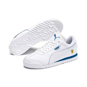 Thumbnail 2 of Scuderia Ferrari Roma Sneakers JR, White-White-Galaxy Blue, medium