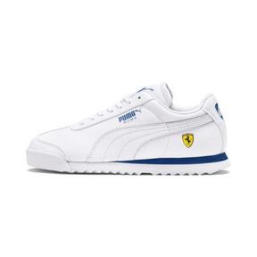 Thumbnail 1 of Scuderia Ferrari Roma Sneakers JR, White-White-Galaxy Blue, medium