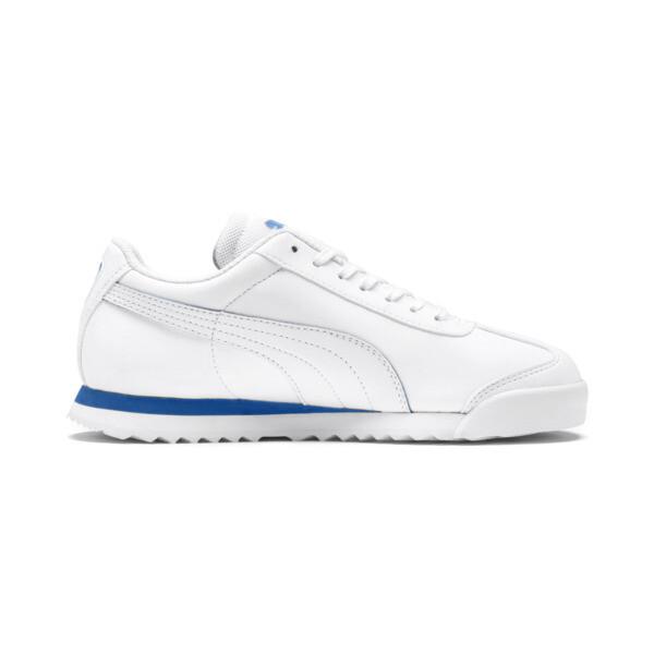 Scuderia Ferrari Roma Sneakers JR, White-White-Galaxy Blue, large
