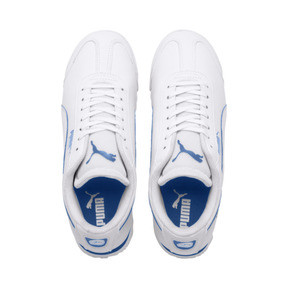 Thumbnail 6 of Scuderia Ferrari Roma Sneakers JR, White-White-Galaxy Blue, medium