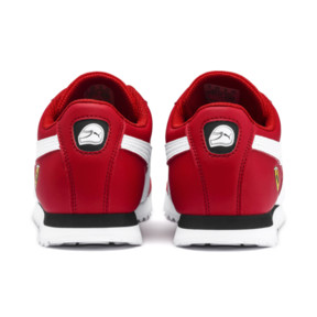 Thumbnail 3 of Scuderia Ferrari Roma Sneakers JR, Rosso Corsa-White-Black, medium