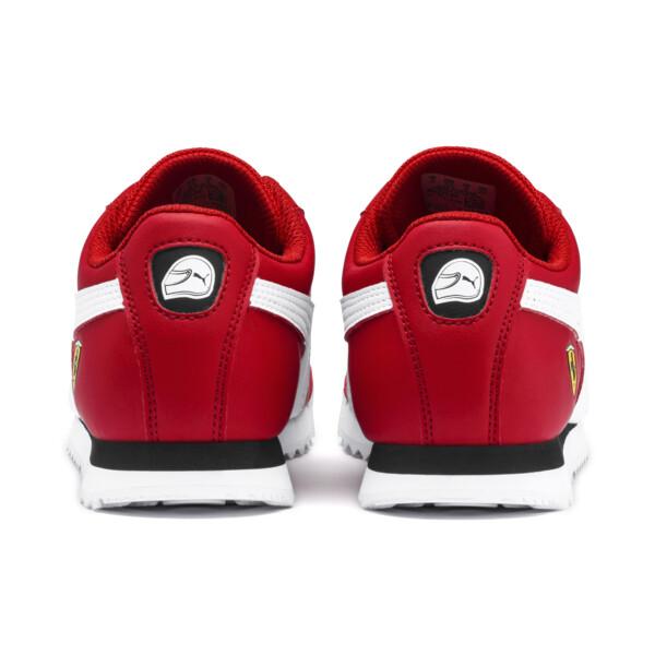 Zapatos deportivos Scuderia Ferrari Roma para JR, Rosso Corsa-White-Black, grande
