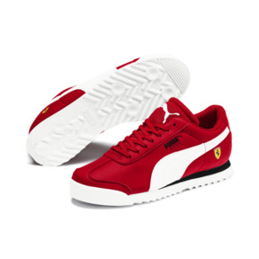 Thumbnail 2 of Scuderia Ferrari Roma Sneakers JR, Rosso Corsa-White-Black, medium
