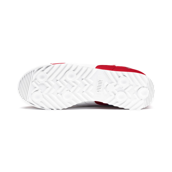 Scuderia Ferrari Roma Sneakers JR, Rosso Corsa-White-Black, large