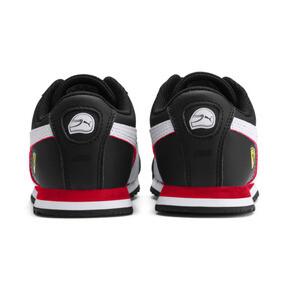 Miniatura 3 de ZapatosScuderia Ferrari Roma para niños, Black-White-Rosso Corsa, mediano