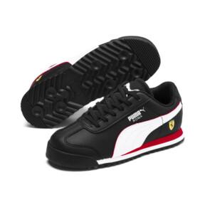 Miniatura 2 de ZapatosScuderia Ferrari Roma para niños, Black-White-Rosso Corsa, mediano
