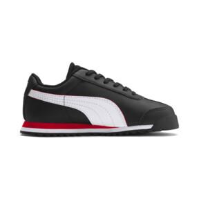 Miniatura 5 de ZapatosScuderia Ferrari Roma para niños, Black-White-Rosso Corsa, mediano