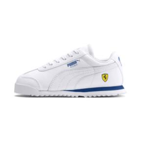 Miniatura 1 de ZapatosScuderia Ferrari Roma para niños, White-White-Galaxy Blue, mediano