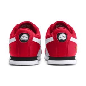 Thumbnail 3 of Scuderia Ferrari Roma Little Kids' Shoes, Rosso Corsa-White-Black, medium