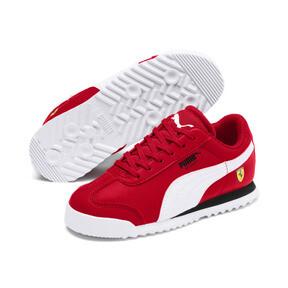 Thumbnail 2 of Scuderia Ferrari Roma Little Kids' Shoes, Rosso Corsa-White-Black, medium
