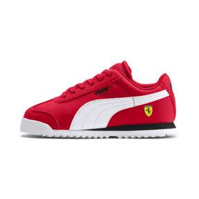 Thumbnail 1 of Scuderia Ferrari Roma Little Kids' Shoes, Rosso Corsa-White-Black, medium