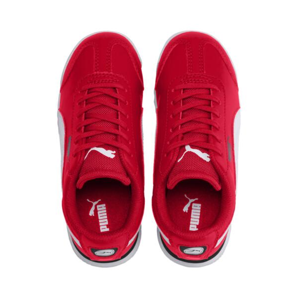 Scuderia Ferrari Roma Little Kids' Shoes, Rosso Corsa-White-Black, large