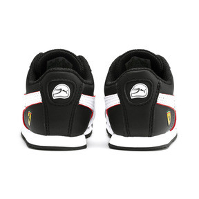 Thumbnail 3 of Scuderia Ferrari Roma Toddler Shoes, Black-White-Rosso Corsa, medium