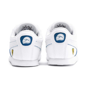 Thumbnail 3 of Scuderia Ferrari Roma Toddler Shoes, White-White-Galaxy Blue, medium