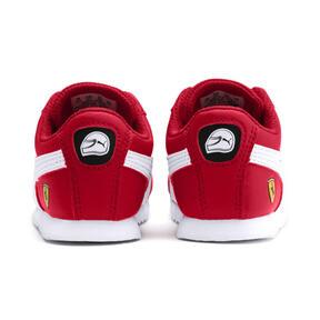 Miniatura 3 de Zapatos Scuderia Ferrari Roma para bebé, Rosso Corsa-White-Black, mediano