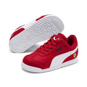Thumbnail 2 of Scuderia Ferrari Roma Toddler Shoes, Rosso Corsa-White-Black, medium