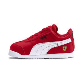 Miniatura 1 de Zapatos Scuderia Ferrari Roma para bebé, Rosso Corsa-White-Black, mediano