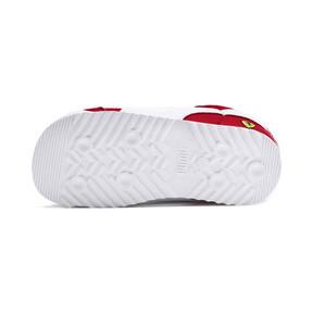 Miniatura 4 de Zapatos Scuderia Ferrari Roma para bebé, Rosso Corsa-White-Black, mediano