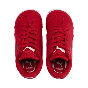 Miniatura 6 de Zapatos Scuderia Ferrari Roma para bebé, Rosso Corsa-White-Black, mediano