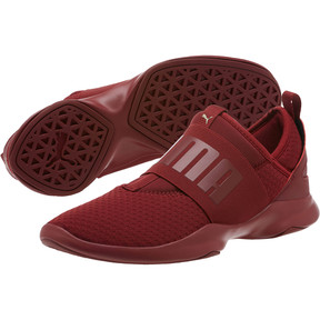 Thumbnail 2 of Dare En Pointe Women's Shoes, Pomegranate-Metallic Gold, medium