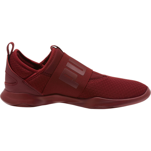 Dare En Pointe Women's Shoes, Pomegranate-Metallic Gold, large