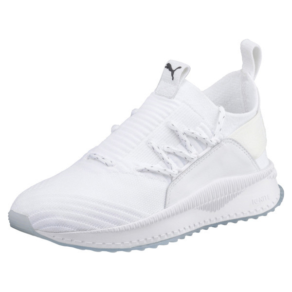 separation shoes d8514 bf1c9 TSUGI Jun Junior Sneakers, Puma White-Puma White, large