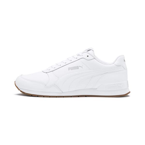 ST Runner v2 sportschoenen, Puma White-Gray Violet, large