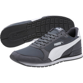 Thumbnail 2 of ST Runner v2 NL Sneakers, Iron Gate-Puma White, medium