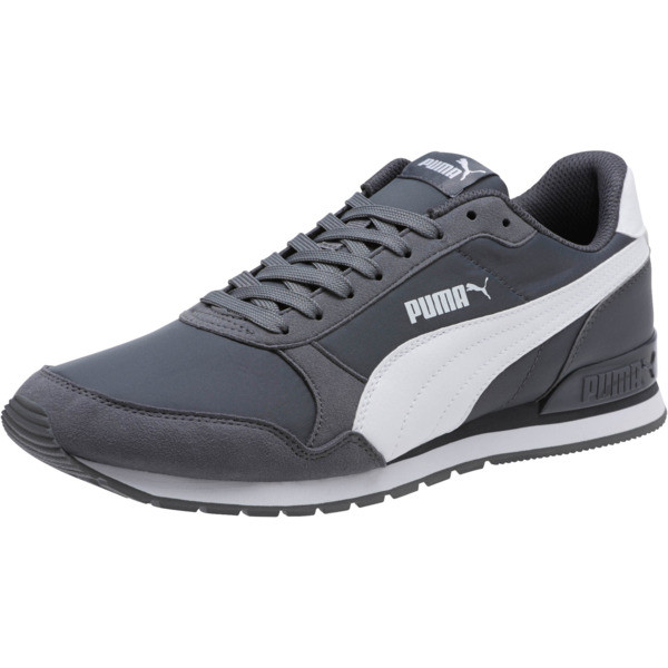 ST Runner v2 NL Sneakers, Iron Gate-Puma White, large