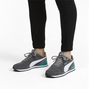 Thumbnail 3 of ST Runner v2 Suede Sneakers, CASTLEROCK-Puma White, medium