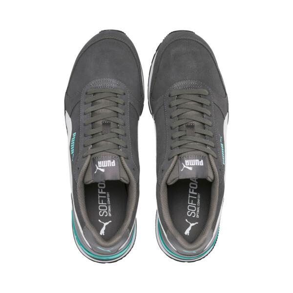 ST Runner v2 Suede Sneakers, CASTLEROCK-Puma White, large