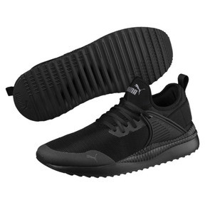 Thumbnail 2 of Pacer Next Cage Sneakers, Puma Black-Puma Black, medium