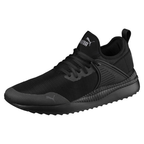 Pacer Next Cage Sneakers, Puma Black-Puma Black, large