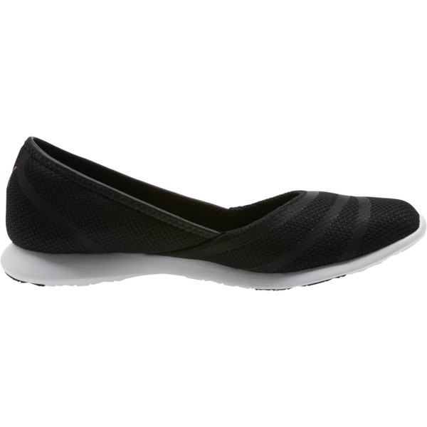 PUMA Vega Ballet Sweet Women's Shoe, Puma Black-Rose Gold, large