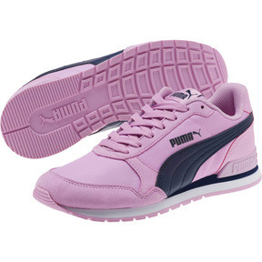Thumbnail 2 of ST Runner v2 NL JR Sneakers, Orchid-Peacoat, medium